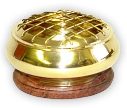 Brass Charcoal Burner - 3''