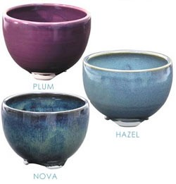 Japanese Handthrown Ceramic Bowl Burners