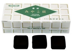 Miyako Sumi Square Incense Charcoal