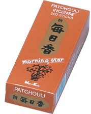 Morning Star Patchouli Incense - 200 Sticks
