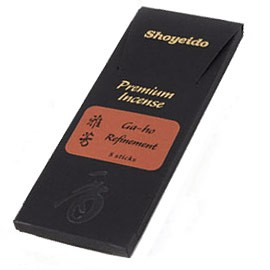 Premium Aloeswood Incense Sampler: Ga-ho - Refinement- 8 Stick Package
