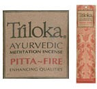 Triloka Ayurvedic Incense: Pitta - Fire