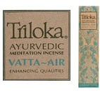 Triloka Ayurvedic Incense: Vatta - Air