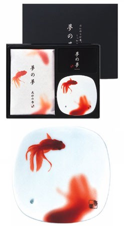 Yume-No-Yume Goldfish Japanese Incense Gift Set