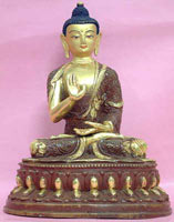 The Boon of Fearlessness (Buddha in the Abhaya Mudra)