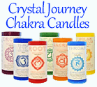 Crystal Journey Chakra Candles
