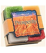 Crystal Journey Candles Herbal Gift Set - Prosperity