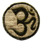 OM Hemp Embroidery Patch - 3